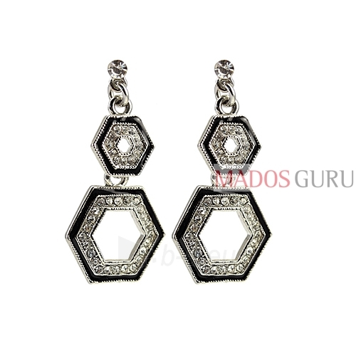 Decorated earrings A656 Paveikslėlis 1 iš 2 30070002452