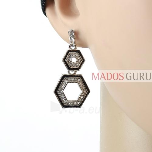 Decorated earrings A656 Paveikslėlis 2 iš 2 30070002452