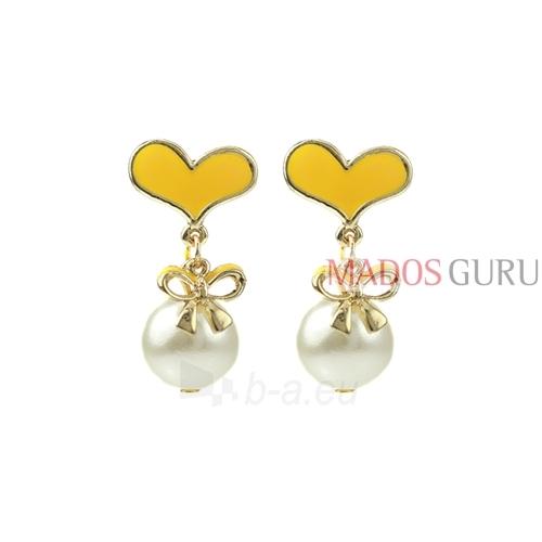 Decorated earrings A681 Paveikslėlis 1 iš 2 30070002458