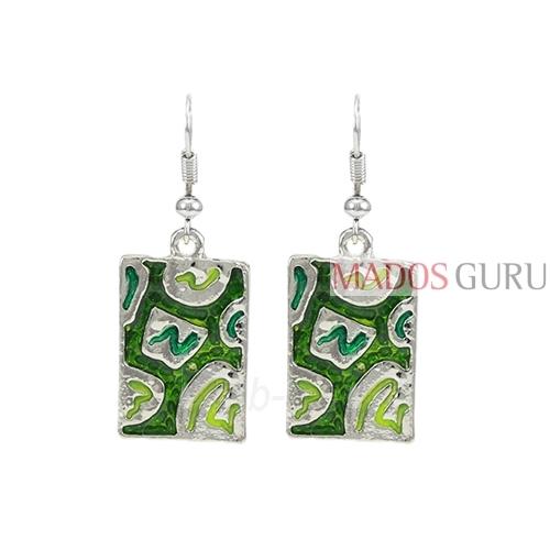 Decorated earrings A692 Paveikslėlis 1 iš 1 30070002460