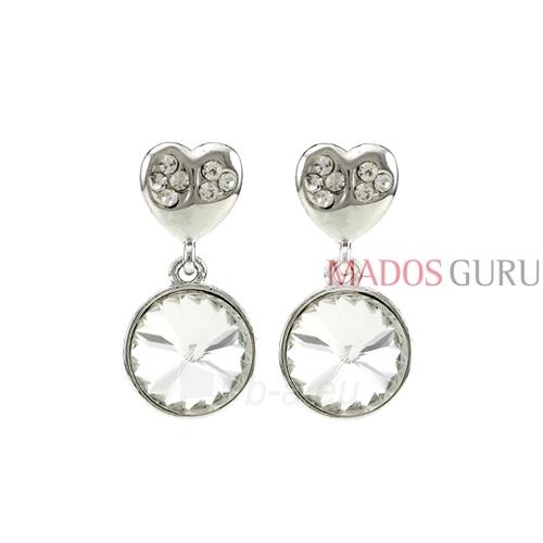 Decorated earrings A720 Paveikslėlis 1 iš 2 30070002422