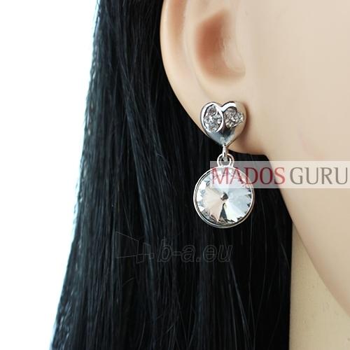 Decorated earrings A720 Paveikslėlis 2 iš 2 30070002422