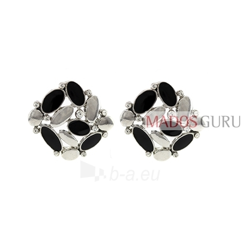 Decorated earrings A723 Paveikslėlis 1 iš 2 30070002425