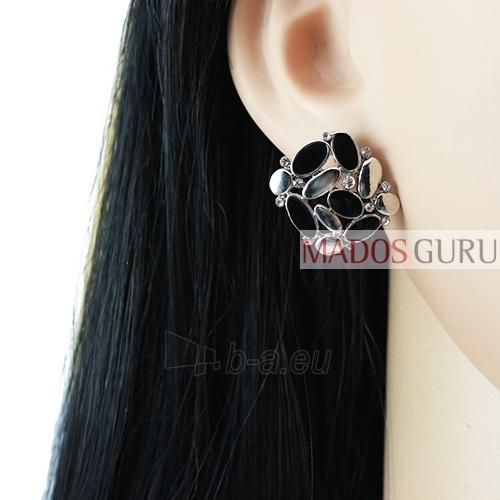 Decorated earrings A723 Paveikslėlis 2 iš 2 30070002425