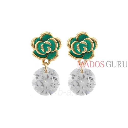 Decorated earrings A731 Paveikslėlis 1 iš 2 30070002433