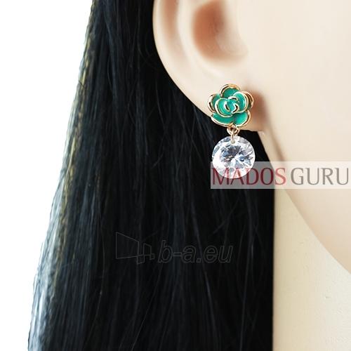 Decorated earrings A731 Paveikslėlis 2 iš 2 30070002433