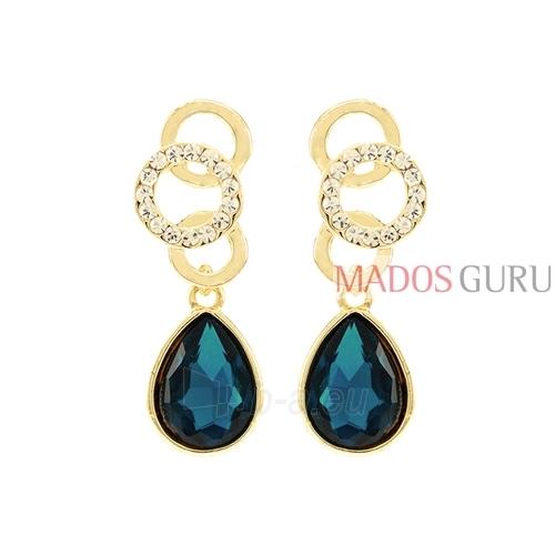 Decorated earrings A735 Paveikslėlis 1 iš 2 30070002437