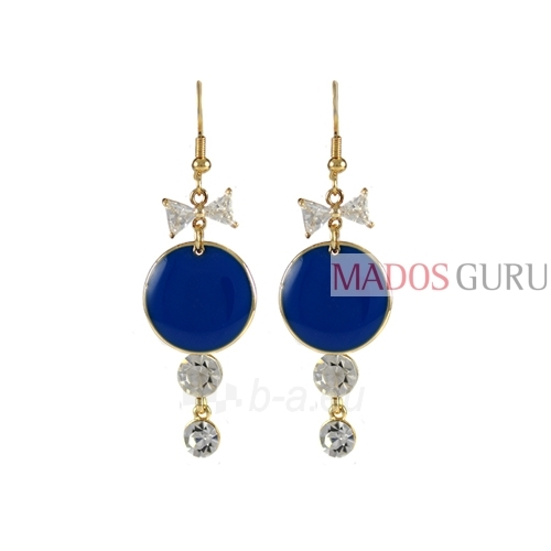Decorated earrings A736 Paveikslėlis 1 iš 1 30070002438