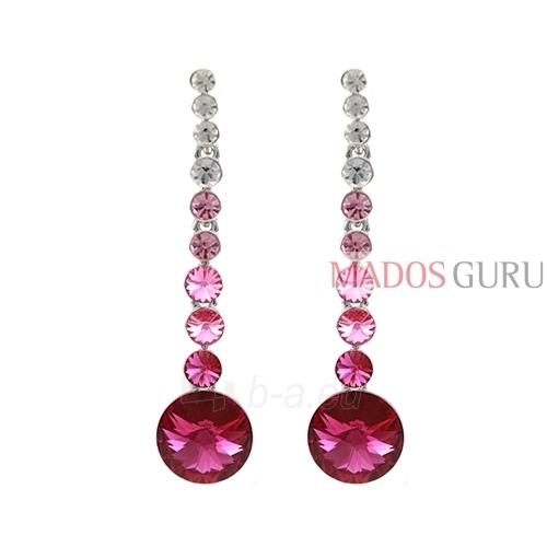 Decorated earrings A752 Paveikslėlis 1 iš 2 30070002412