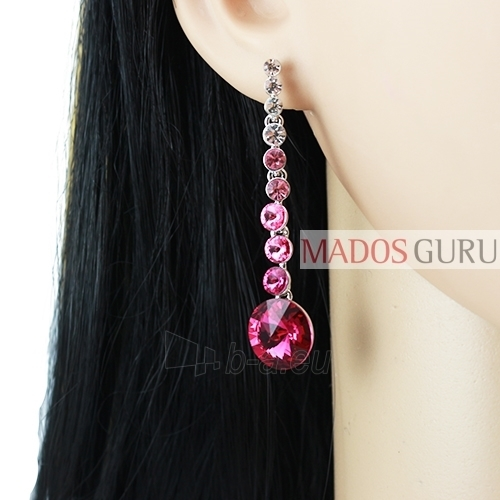 Decorated earrings A752 Paveikslėlis 2 iš 2 30070002412