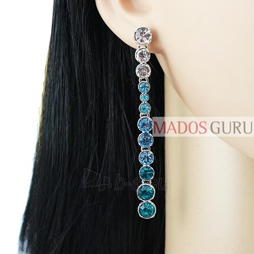 Decorated earrings A754 Paveikslėlis 2 iš 2 30070002414