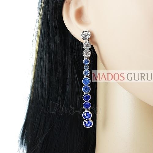 Decorated earrings A755 Paveikslėlis 2 iš 2 30070002415