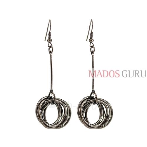 Decorated earrings A760 Paveikslėlis 1 iš 1 30070002418