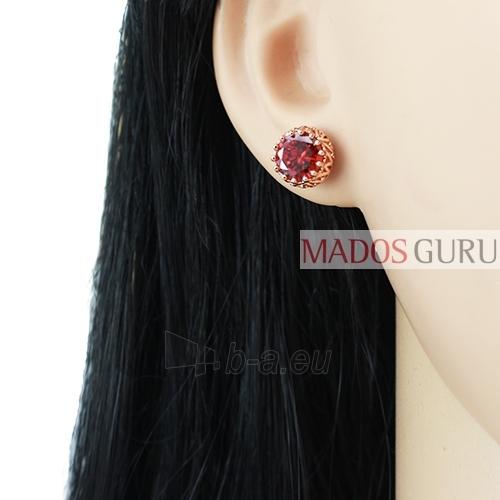 Decorated earrings A771 Paveikslėlis 2 iš 2 30070002383