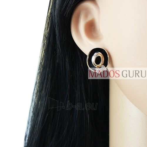 Decorated earrings A798 Paveikslėlis 2 iš 2 30070002387