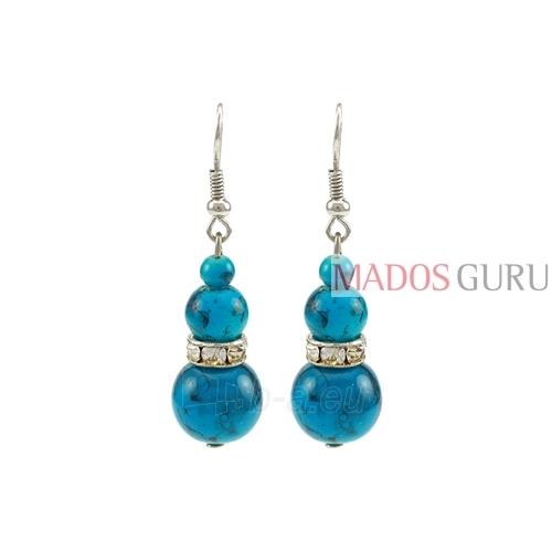 Decorated earrings A851 Paveikslėlis 1 iš 1 30070002395