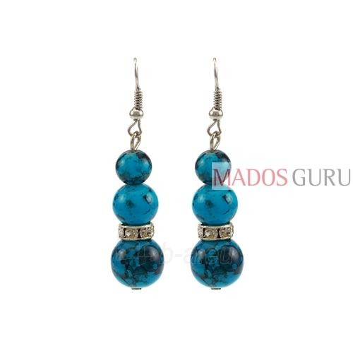 Decorated earrings A852 Paveikslėlis 1 iš 1 30070002396