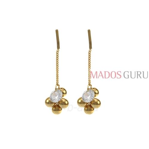 Decorated earrings A869 Paveikslėlis 1 iš 2 30070002504