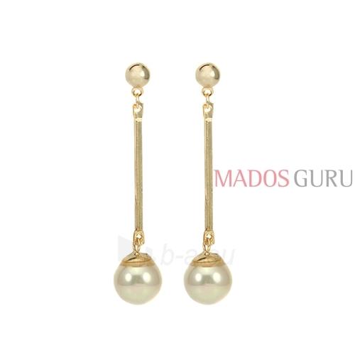 Decorated earrings A871 Paveikslėlis 1 iš 2 30070002506