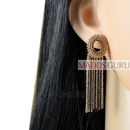 Decorated earrings A884 Paveikslėlis 2 iš 2 30070002516
