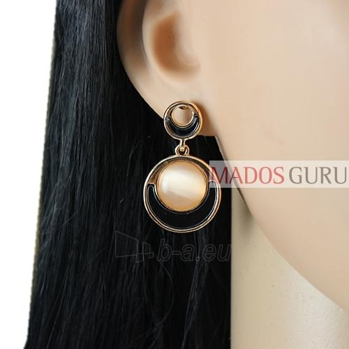 Decorated earrings A913 Paveikslėlis 2 iš 2 30070002529
