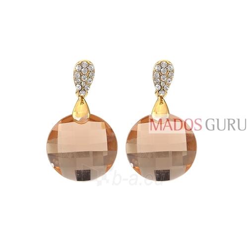 Decorated earrings A921 Paveikslėlis 1 iš 2 30070002531