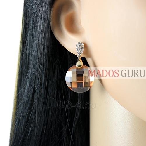 Decorated earrings A921 Paveikslėlis 2 iš 2 30070002531