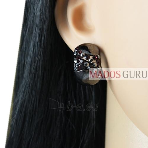 Decorated earrings A927 Paveikslėlis 2 iš 2 30070002534