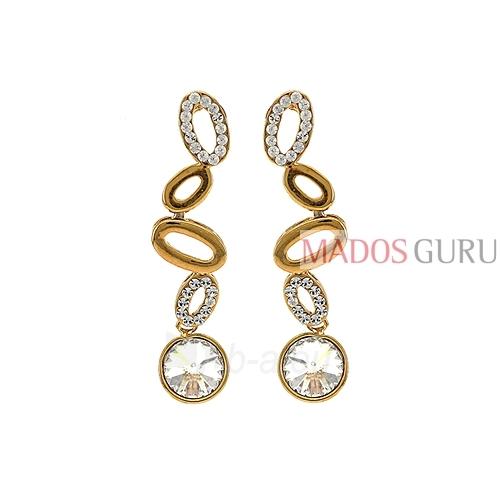 Decorated earrings A971 Paveikslėlis 1 iš 2 30070002559
