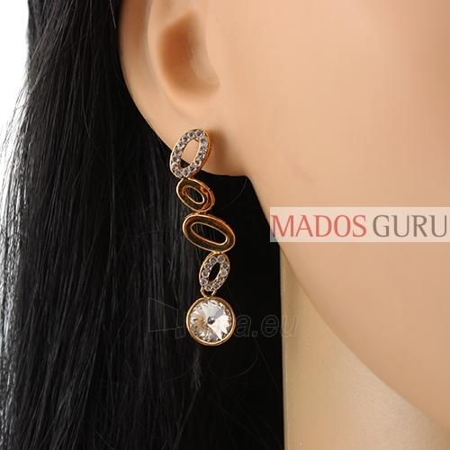 Decorated earrings A971 Paveikslėlis 2 iš 2 30070002559