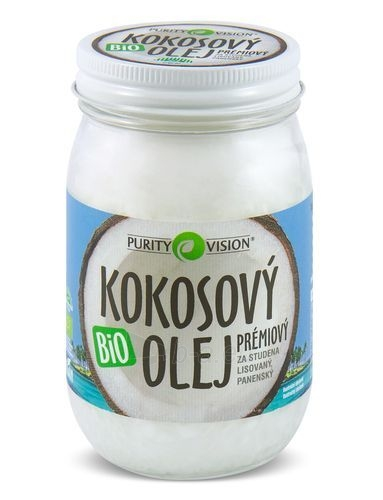 Purity Vision BIO Virgin Cold pressed Coconut Oil PURITY VISION 300 ml Paveikslėlis 1 iš 2 310820103656