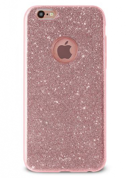 PURO Glitter Shine Back cover for Iphone 6/6s (Rose Gold) Paveikslėlis 1 iš 1 250232003027