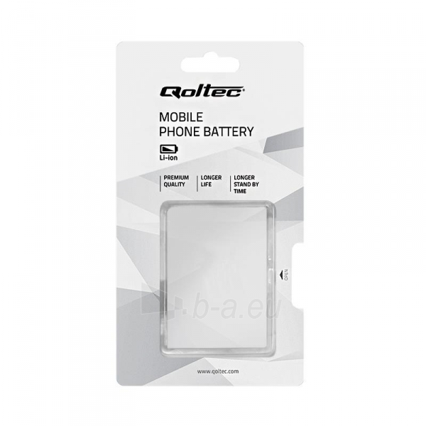 QOLTEC Battery for Samsung Galaxy S5, 2800mAh Paveikslėlis 2 iš 2 250232002671