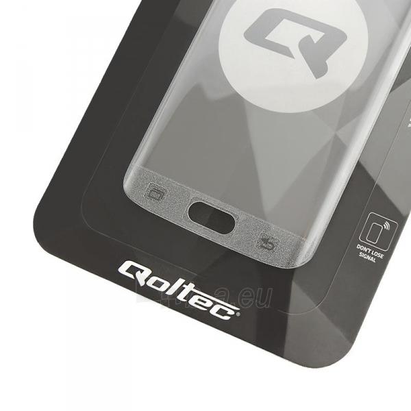 Qoltec Premium Tempered Glass ekrano apsauga for Samsung S7 | Full cover Paveikslėlis 1 iš 2 310820041056