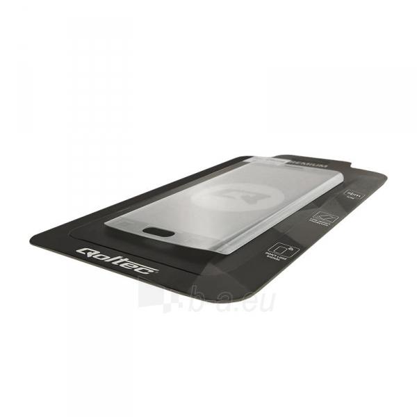 Qoltec Premium Tempered Glass ekrano apsauga for Samsung S7 edge | full cover Paveikslėlis 2 iš 2 310820041052