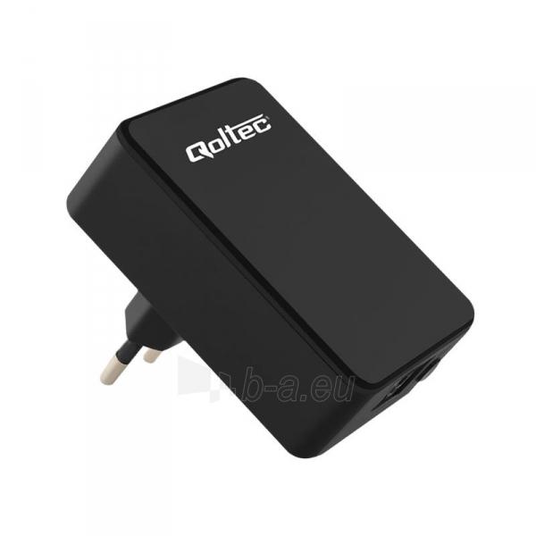 Qoltec Wireless Wi-Fi / AP Repeater Paveikslėlis 1 iš 1 310820009148