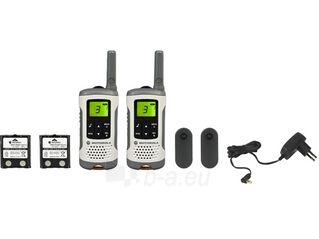 Motorola T50 portatyvios radio stotelės, 8km, 8kanalai Paveikslėlis 1 iš 2 30029600087