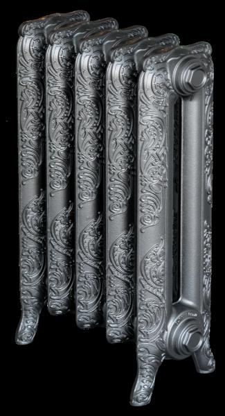 Radiatorius ketinis sekcijinis WINDSOR 600/180, koja (surinktas*, sidabro spalva) Paveikslėlis 1 iš 3 310820236002