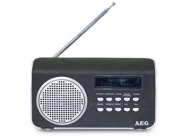Radijas AEG DAB 4130 BLACK Paveikslėlis 1 iš 1 310820152494