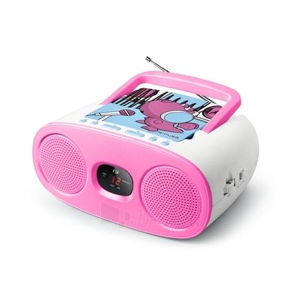 Radijas Muse Portable Radio M-20 KDG CD player, AUX in, FM radio Paveikslėlis 1 iš 2 310820120295