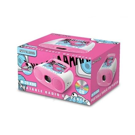 Radijas Muse Portable Radio M-20 KDG CD player, AUX in, FM radio Paveikslėlis 2 iš 2 310820120295