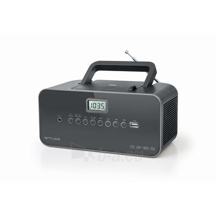 Radio Muse Portable radio M-28DG USB port, AUX in, Paveikslėlis 1 iš 3 310820223919