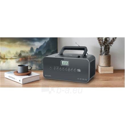 Radio Muse Portable radio M-28DG USB port, AUX in, Paveikslėlis 2 iš 3 310820223919
