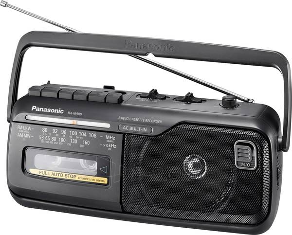 Radijas Panasonic RF-M40DE-K Paveikslėlis 1 iš 1 310820232703
