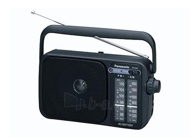 Radijo imtuvas PANASONIC RF2400EG9-K Paveikslėlis 1 iš 1 250219000033