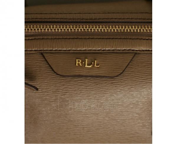 Ralph Lauren Elegantní kožená kabelka Pendridge Satchel hnědá Paveikslėlis 2 iš 3 30063202137
