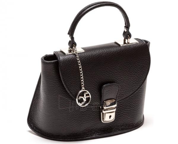 Handbag Carla Ferreri odinė 1096 Nero Paveikslėlis 1 iš 4 30063202444