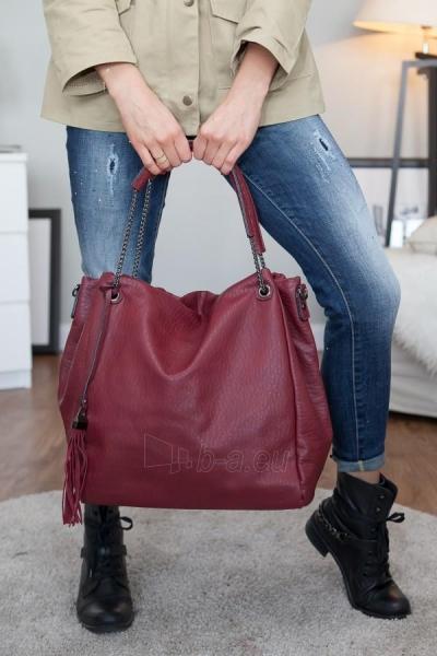 Handbag Grace (raudonos color) Paveikslėlis 1 iš 3 310820032757
