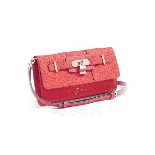 Handbag Guess  La Vida Logo Mini Cross-Body červená Paveikslėlis 1 iš 5 30063201944