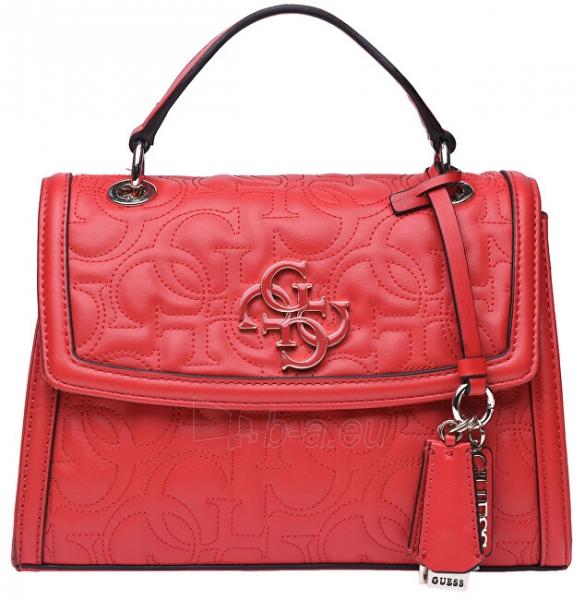 Rankinė Guess Ladies New Wave Top Handle Flap red-red Paveikslėlis 1 iš 5 310820207335